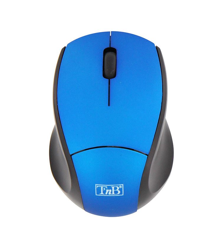 Souris TNB sans fil mini bleu (photo)