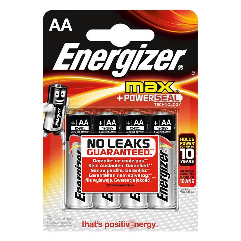 Piles ENERGIZER MAX AA/LR06 x 4