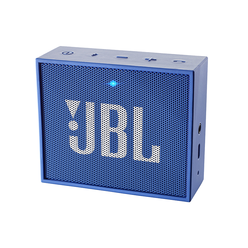 Enceinte JBL GO bleu bluetooth (photo)