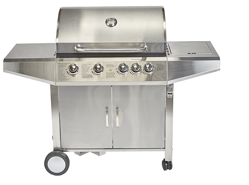 Barbecue gaz TEAM TKG GBBQ 1000 4 brûleurs + 1 rechaud