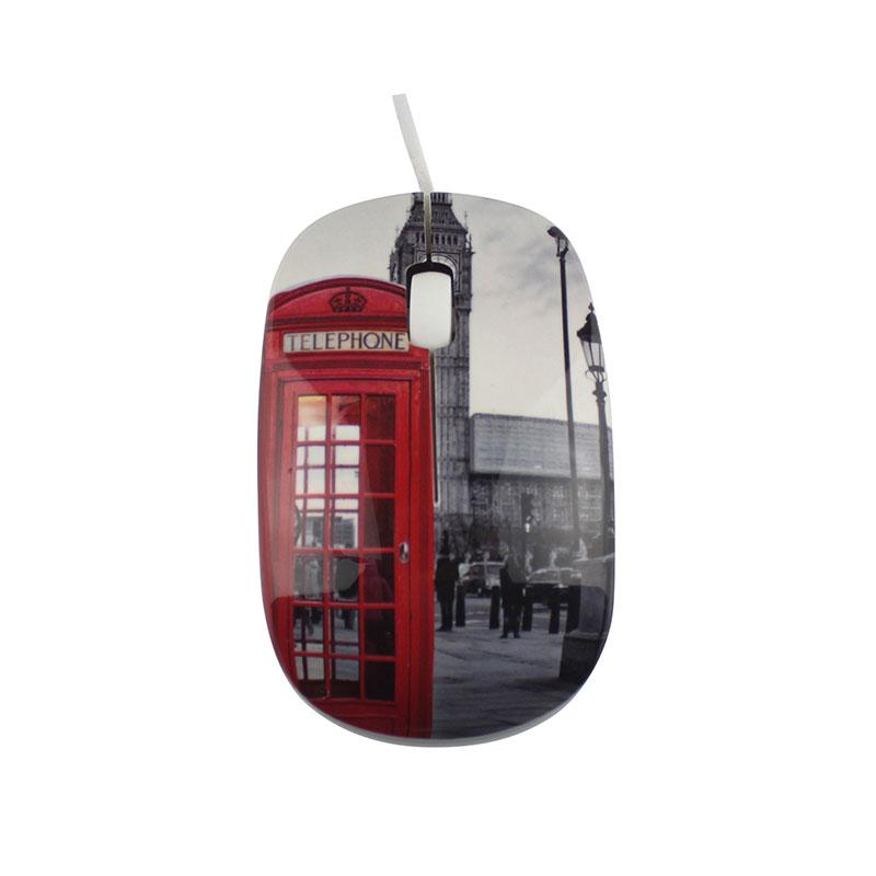 Souris Optique Techyo Londres 1000 Dpi (photo)