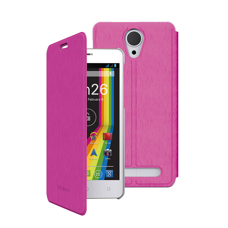 Folio Case Polaroid Fuchsia Pour Phantom 5 V2