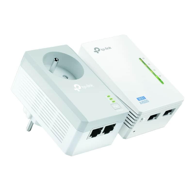 CPL DUO TP LINK 500 Mbp/s Wifi N300