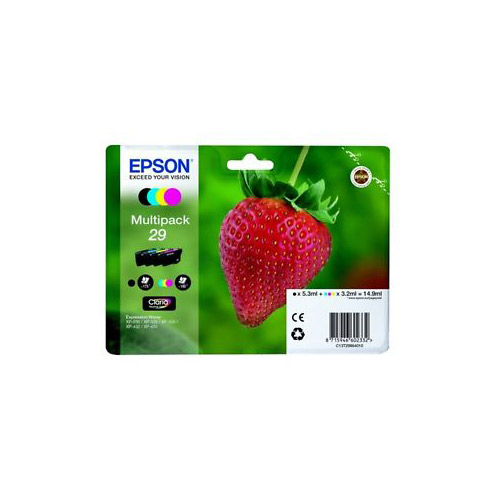 MultiPack EPSON T2986 Fraise 4Couleurs (photo)