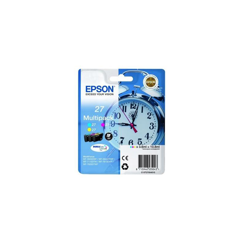 MultiPack EPSON T2705 Reveil 3 Couleurs (photo)
