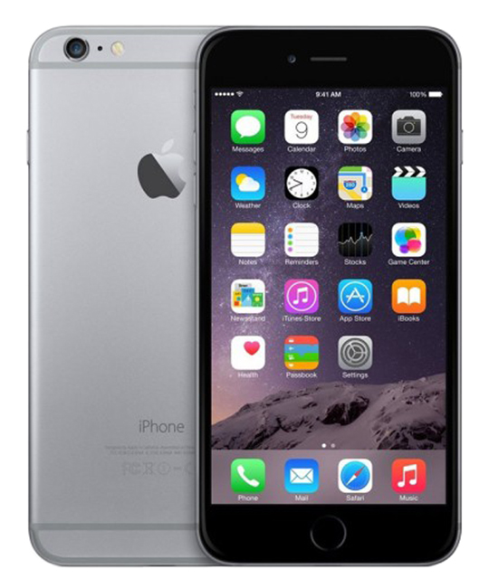 Apple Iphone 6+ 128 go gris sideral reconditionne grade a+