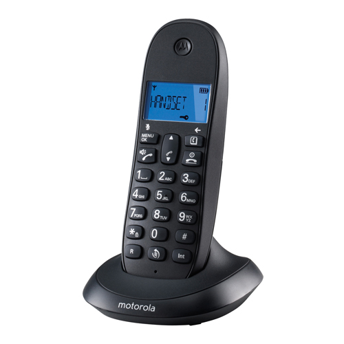 Telephone solo MOTOROLA C1001LB noir mains libres