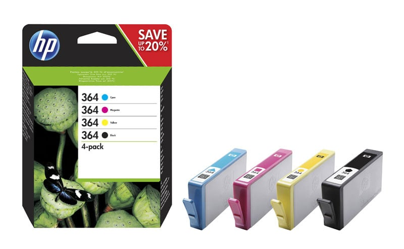 MultiPack HP N°364 4 Couleurs