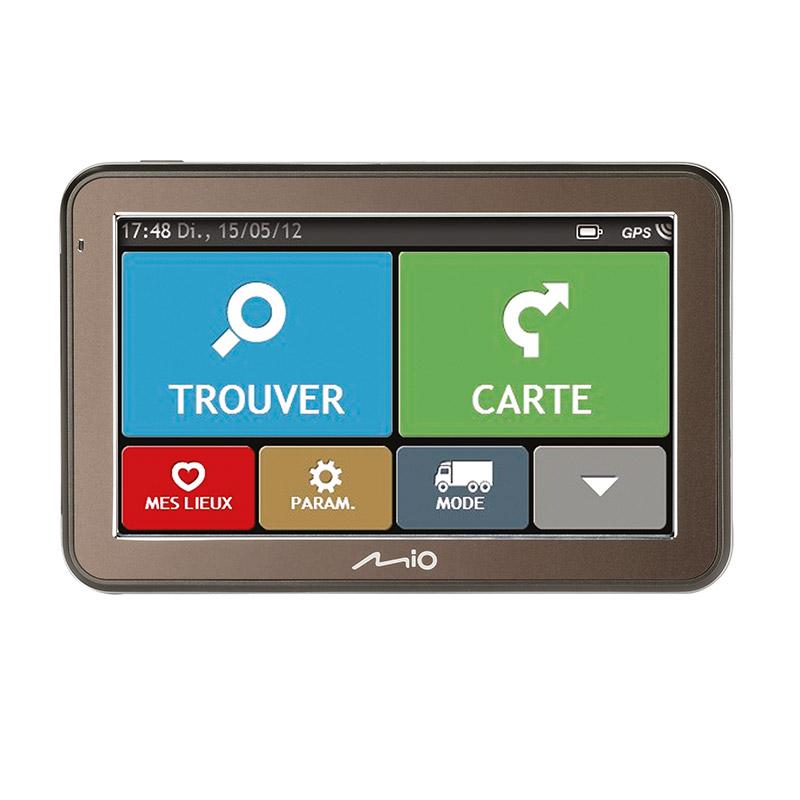 GPS MIO S7670 TRUCK 44 pays cartographie à vie, Bluetooth