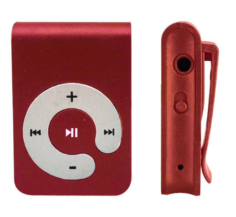 Baladeur MP3 KRIONIX BM3 WOM Red micro SD