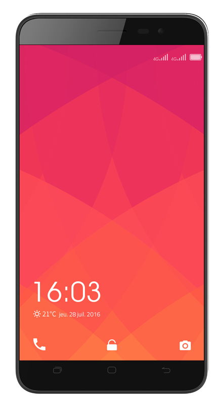 Smartphone HISENSE F20 4G HD noir