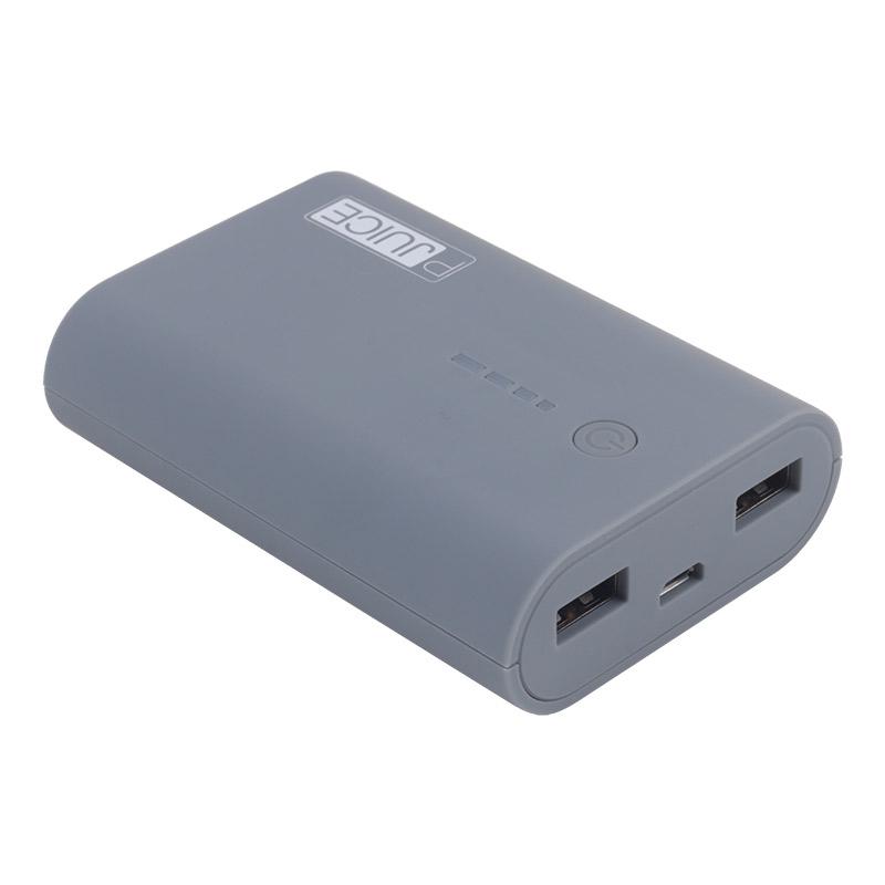 Batterie De Secours Pour Smartphone On Earz Pjuice 8000 Mah Grise