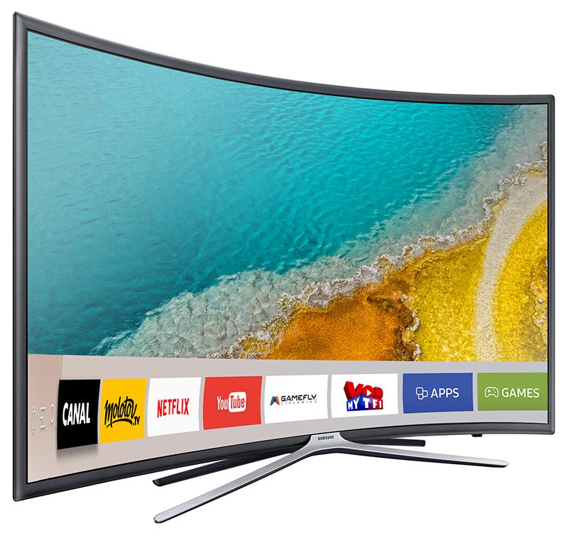 Tv Led Curved Samsung Ue49k6300