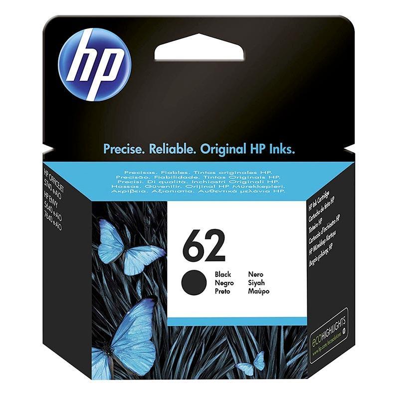 Cartouche HP N°62 Noir
