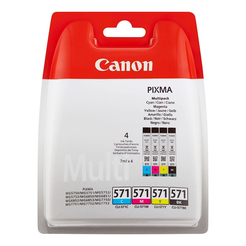 Multipack Canon Cli 571 4couleurs (photo)