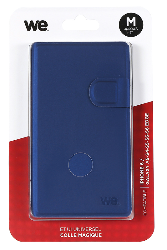 Folio Case WE universel L 5 bleu
