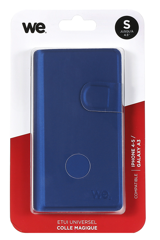 Folio Case WE universel M 4,5 bleu