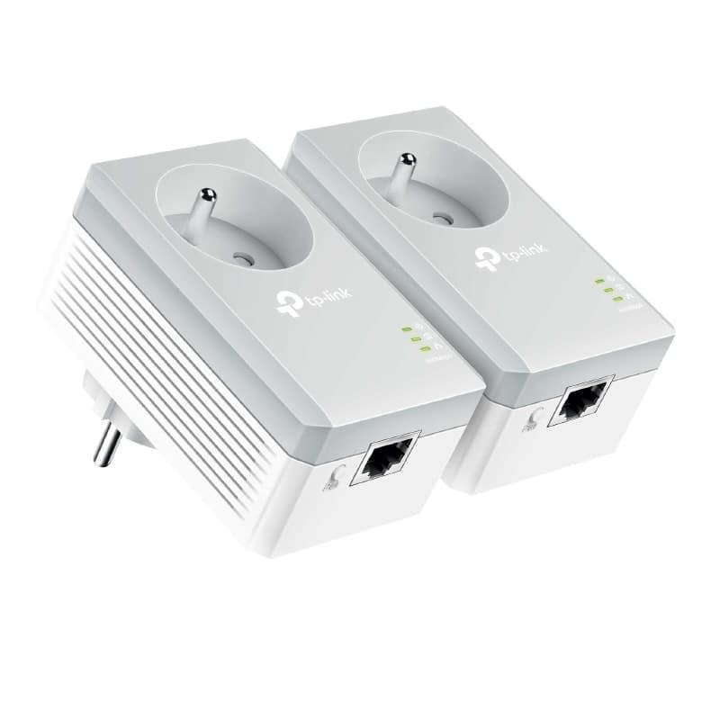 Cpl Duo Tp Link 500 Mbits/s Avec Prise Conservée