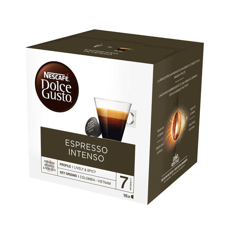 Dosettes cafe DOLCE GUSTO EXPRESSO INTENSO