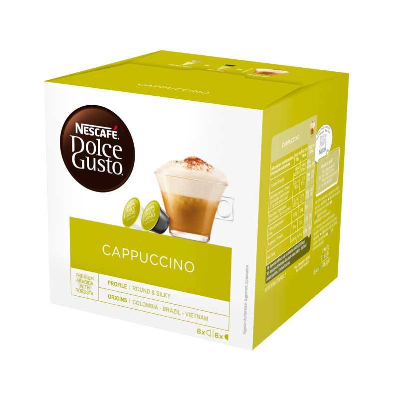 Dosettes cafe DOLCE GUSTO Cappuccino (photo)