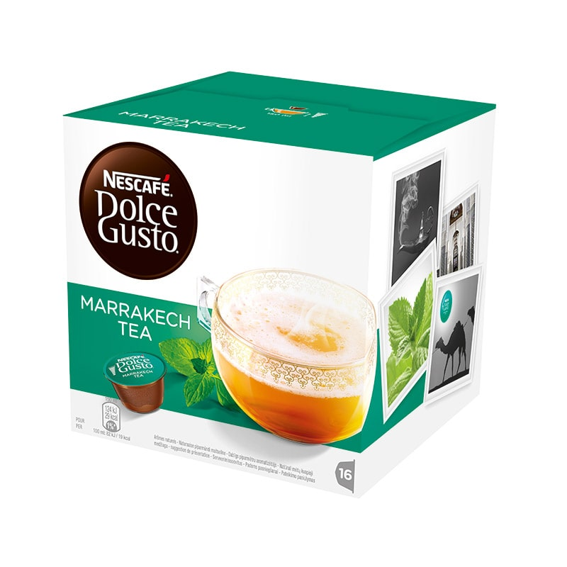 Dosettes the DOLCE GUSTO Marrakech Tea