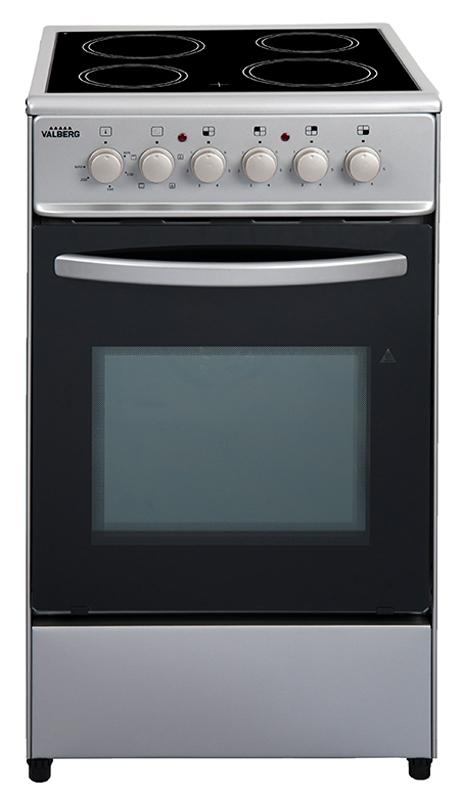 Cuisinière vitroceramique VALBERG CV 5060 4MC S EUT
