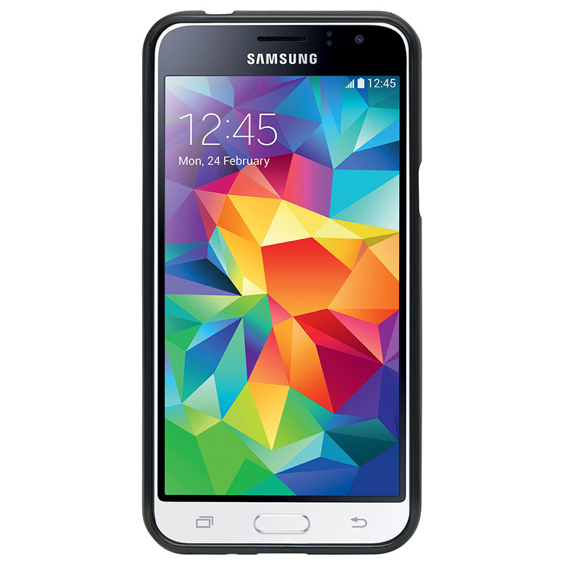 Coque Mobilis Noir Pourr Samsung J1 (photo)