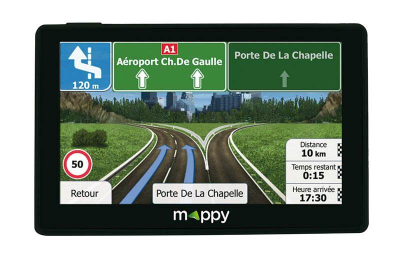 GPS pour camping car MAPPY ULTI X585 CAMP Europe 44 pays cartographie à vie (photo)