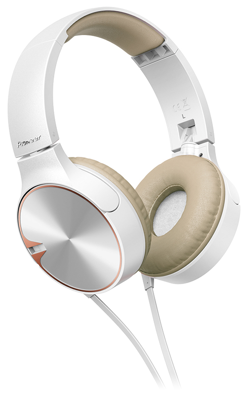 Casque PIONEER SE-MJ722T-T blanc (photo)