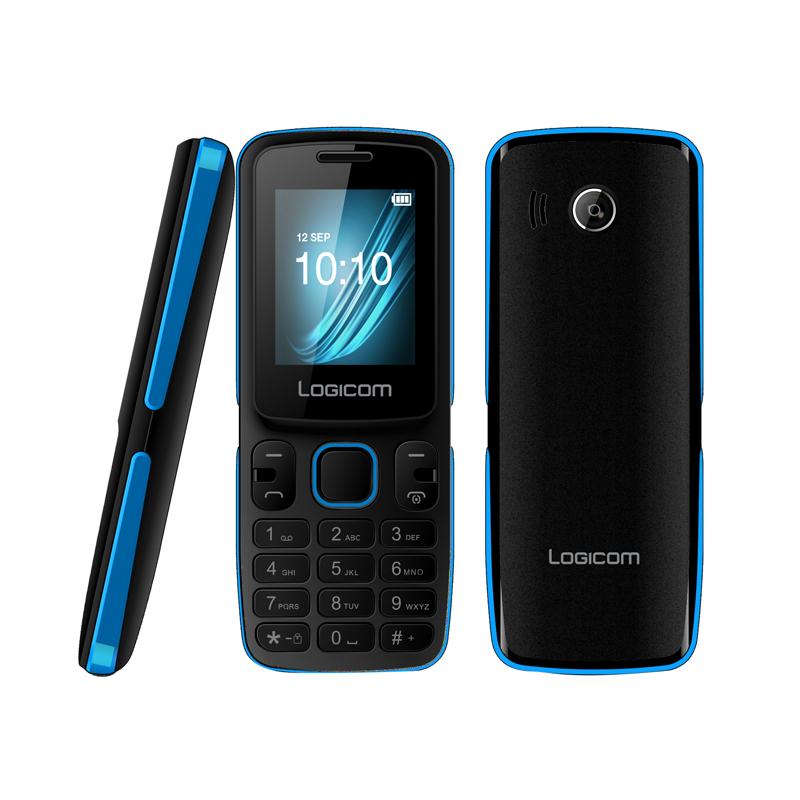 Téléphone Mobile Débloqué Logicom L196 1,77 Bleu