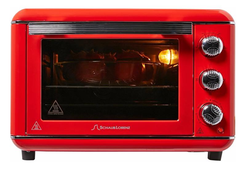 Four Schaub Lorenz Eo1664 23l Vintage Red