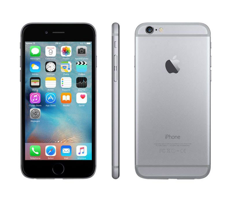 APPLE iPhone 6s 16 Go Sideral Grey reconditionne GRADE A+