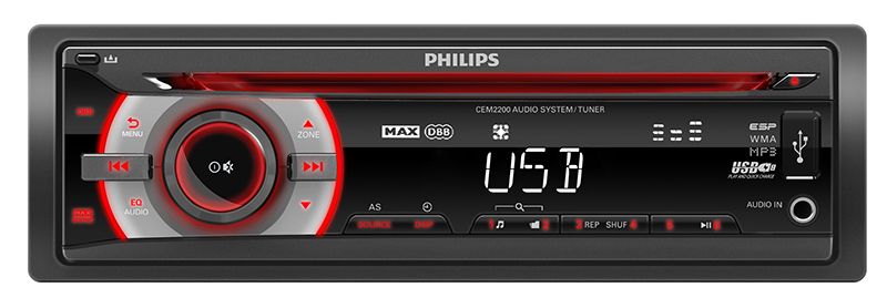Autoradio PHILIPS CEM2200/19 (photo)