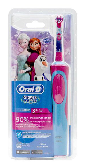 Brosse à dents ORAL-B reines des neiges