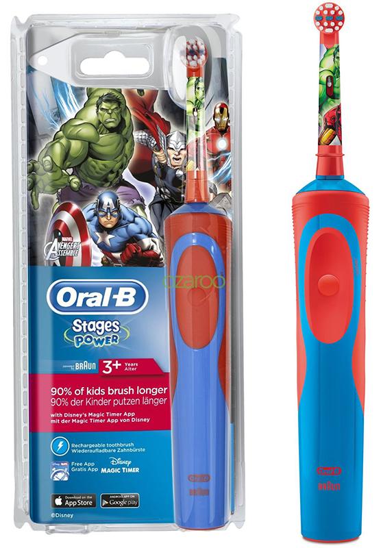 Brosse à dents ORAL-B Avengers rechargeable