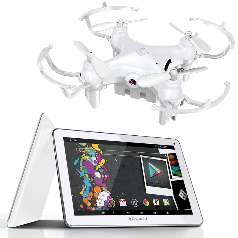 pack tablette polaroid infinite nano drone. Black Bedroom Furniture Sets. Home Design Ideas