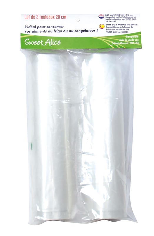 Sac SWEETALICE 2 ROULEAUX 20cm x 3m