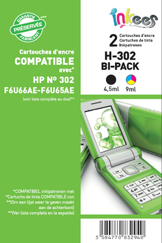 MultiPack INKEES H302 4 Couleurs (photo)