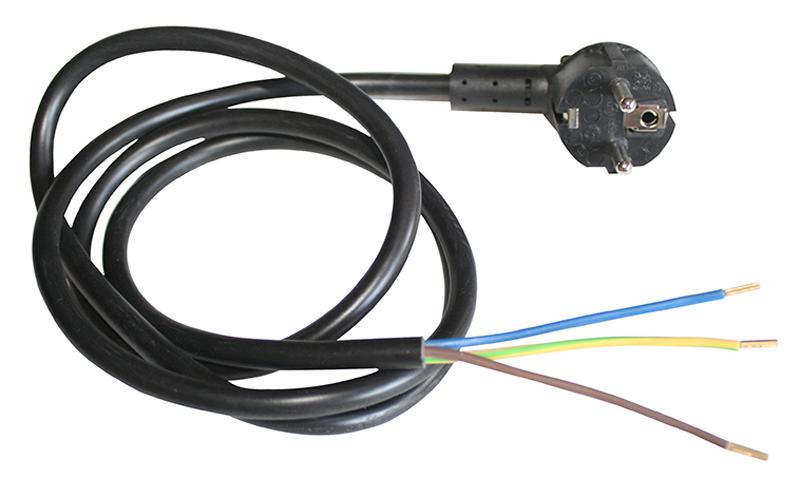 Câble D'alimentation électrique 3 X 1,5 Mm² Avec Fiche Secteur Intégrée Électro DÉpÔt (photo)