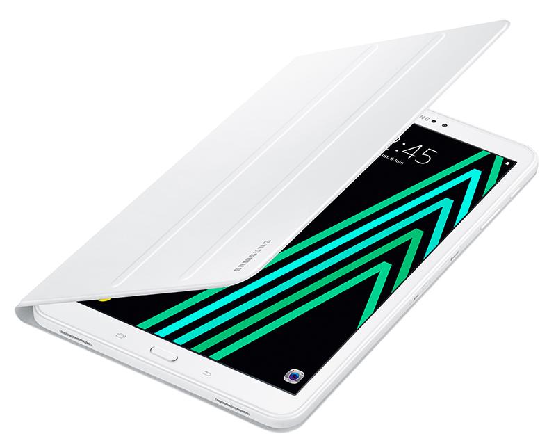 Folio Case SAMSUNG Galaxy Tab A. Choix du coloris uniquement en magasin et en fonction des stocks disponibles.