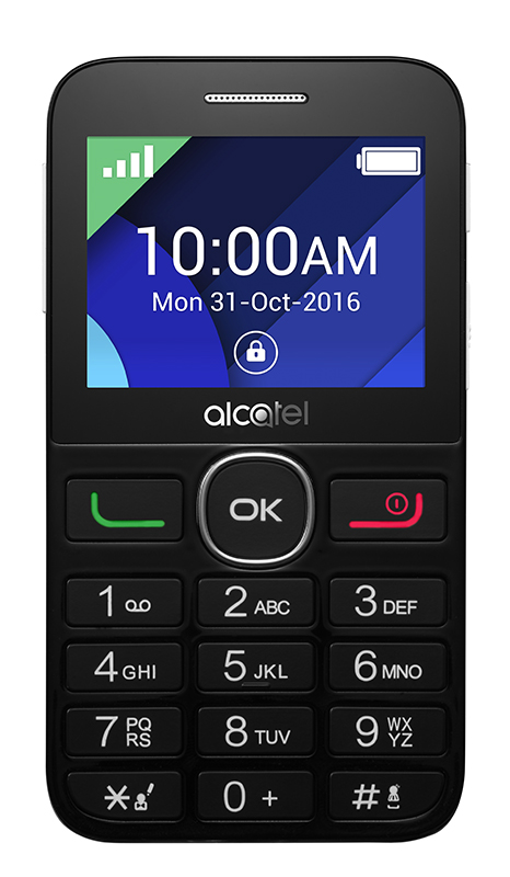 Mobile ALCATEL 2008G noir/blanc