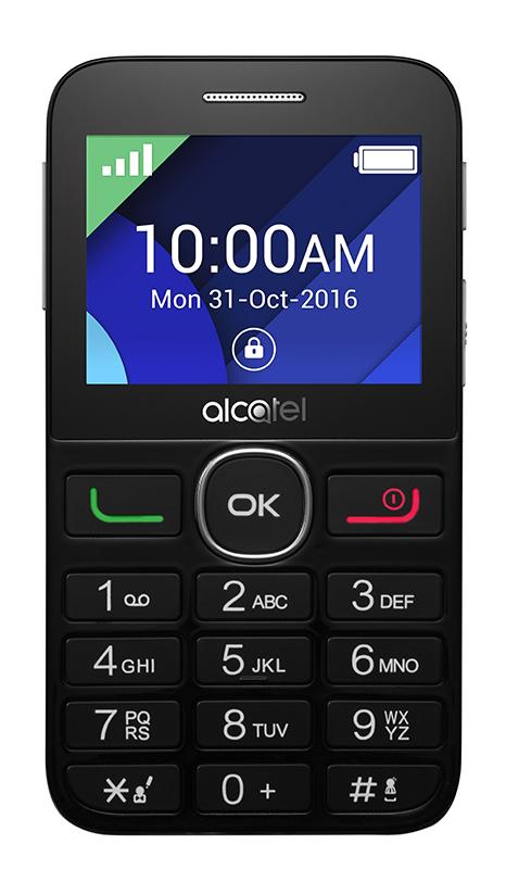 Mobile Alcatel 2008g Noir/silver