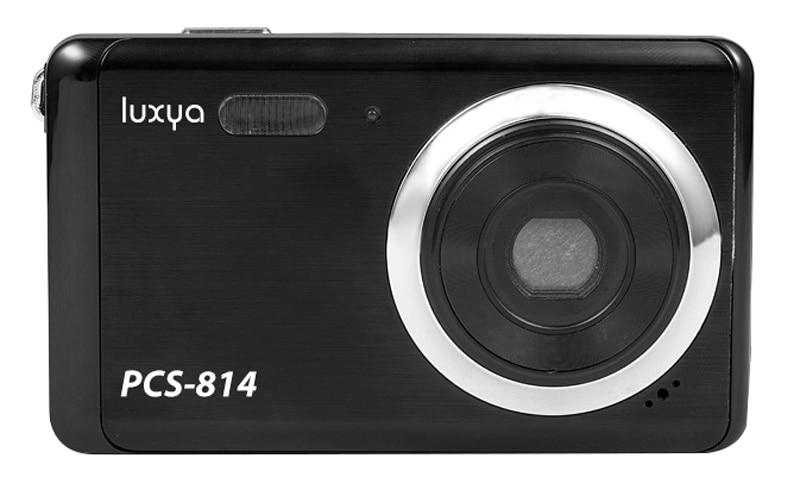 Appareil photo numerique compact LUXYA PCS-814 noir (photo)
