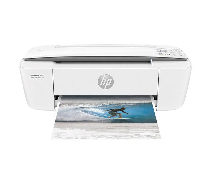 Imprimante multifonction HP Deskjet 3720 blanc J9V95B (photo)