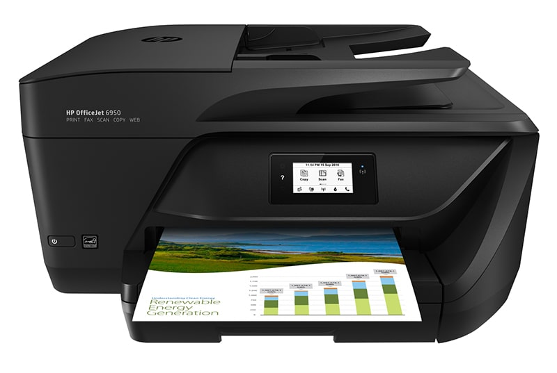 Imprimante multifonction HP Office Jet 6950 noir (photo)