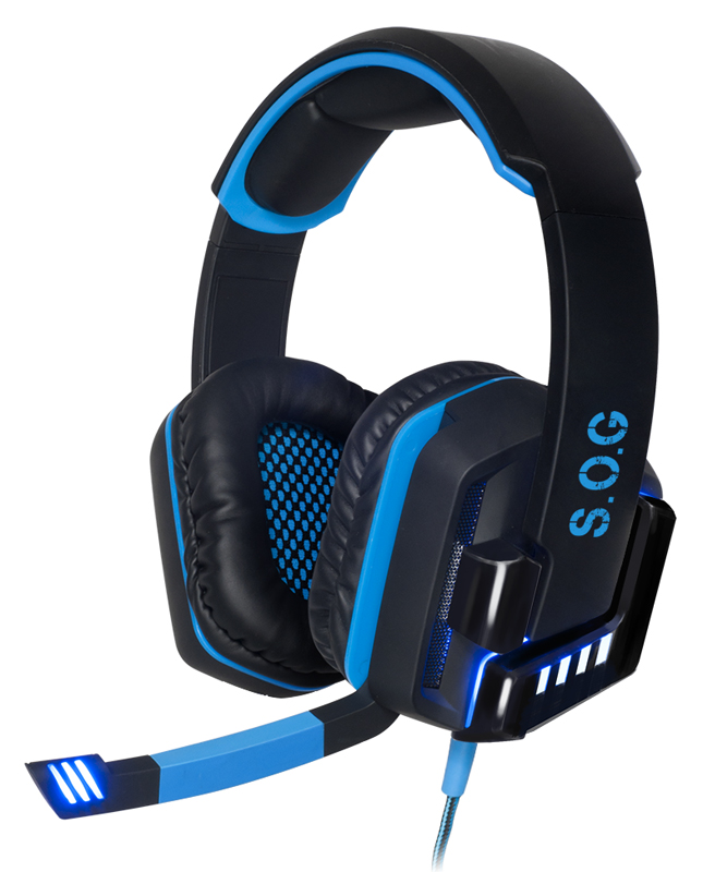 Casque Micro Gaming Spirit Of Gamer Xpert-h8 Usb 7.1 Led Vibrations
