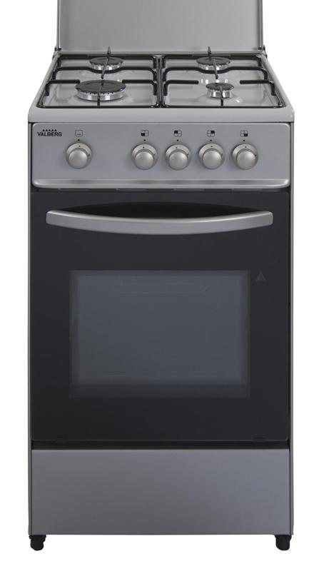 Cuisinière Gaz VALBERG CG 5060 4CM S EUT