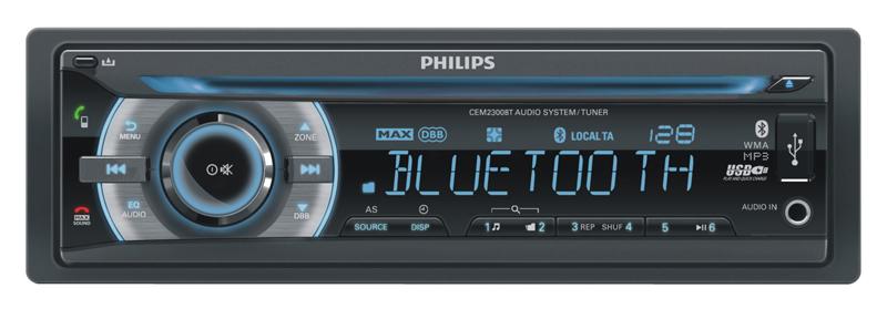 Autoradio PHILIPS CEM2300BT