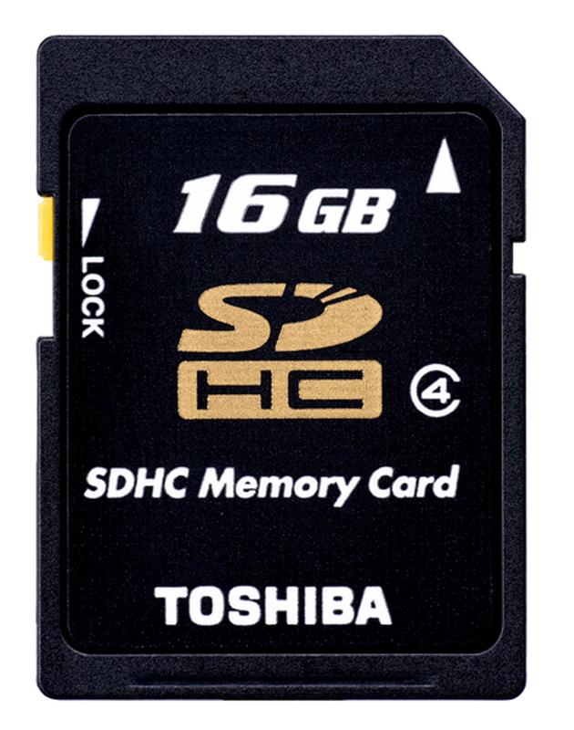 Carte Sd Toshiba 16go Class 4