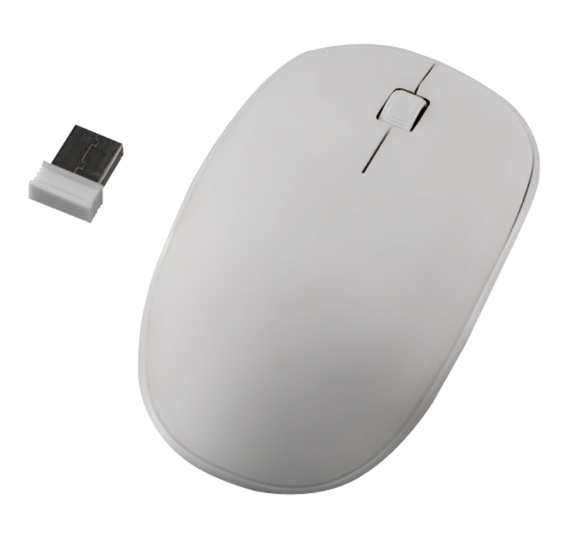 Souris H'MC sans fil 2,4GHz blanche (photo)